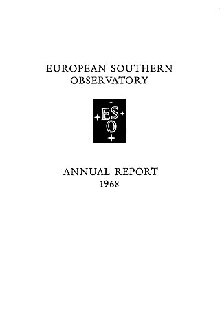 ESO Annual Report 1968