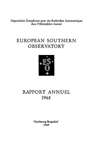 ESO Annual Report 1968 (French)