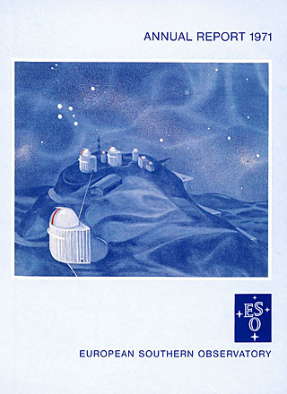 ESO Annual Report 1971