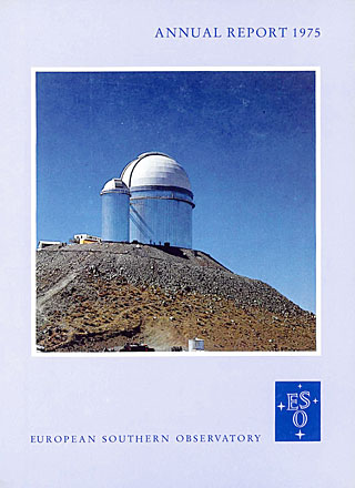 ESO Annual Report 1975