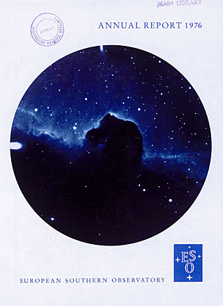 ESO Annual Report 1976