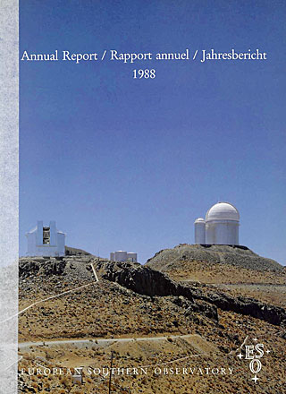 ESO Annual Report 1988