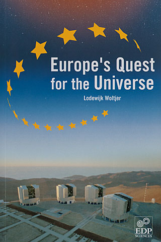 Book: Europe's Quest for the Universe