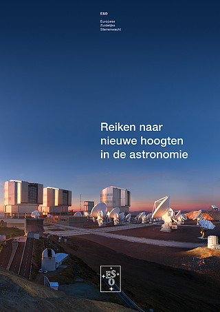 Brochure: Reaching New Heights in Astronomy (Nederlands)