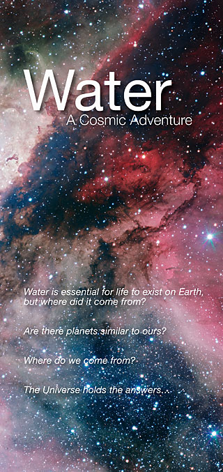 Flyer: Water: A Cosmic Adventure