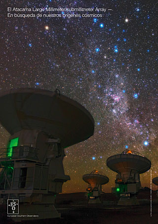 The Atacama Large Millimeter/submillimeter Array: ALMA handout (Español)