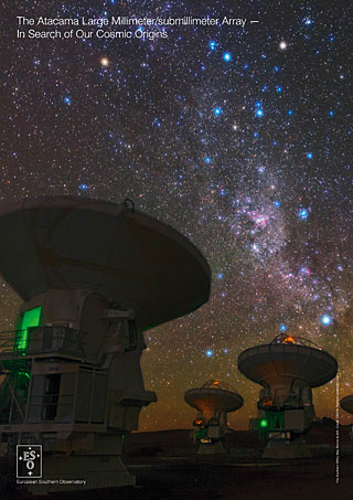 The Atacama Large Millimeter/submillimeter Array — In Search of Our Cosmic Origins handout (English)