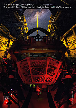 The Very Large Telescope — The World's Most Advanced Visible-light Astronomical Observatory handout (2015, English)