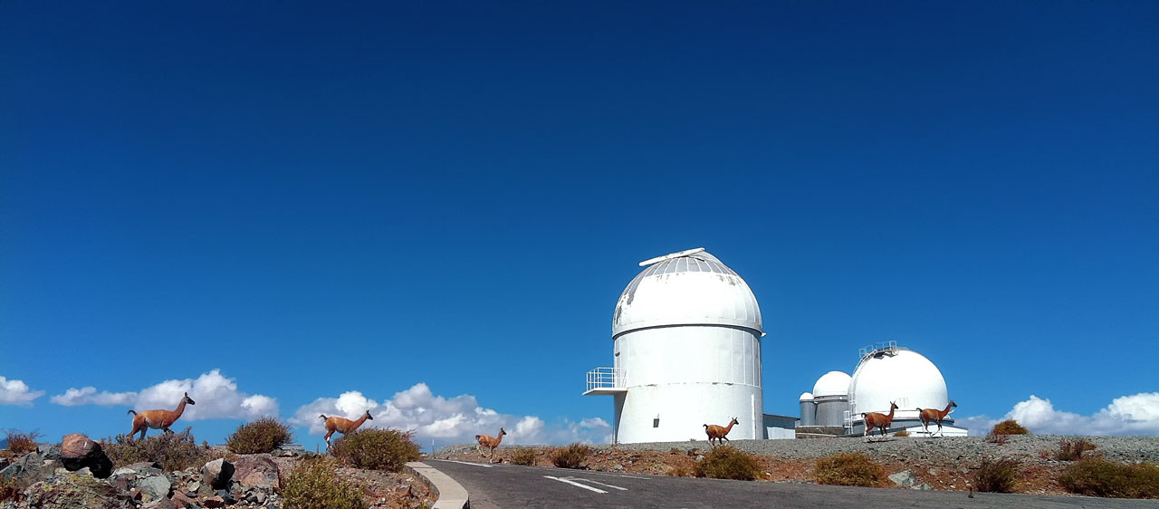 MarLy 1-metre telescope