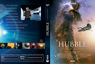 DVD: Hubble - 15 years of Discovery (ESA VIP PAL DVD v.3)