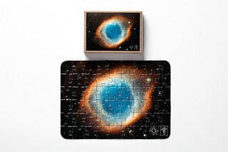 The Helix Nebula Puzzle Mini puzzle Model