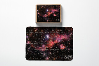 The Seagull Nebula Puzzle Mini puzzle Model