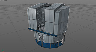 3D Model of the VLT Dome