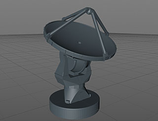 3D Model of the ALMA antenna