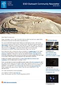 ESO Outreach Community Newsletter January 2015