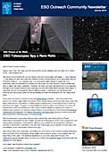 ESO Outreach Community Newsletter January 2016