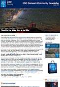 ESO Outreach Community Newsletter March 2016