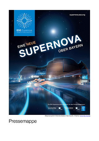 ESO Supernova Planetarium & Visitor Centre press kit (German)