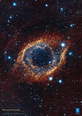 Poster: VISTA Looks at the Helix Nebula