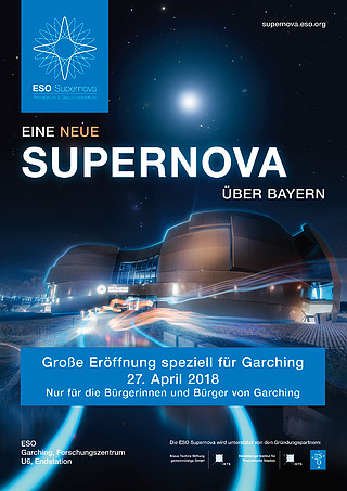 Poster: Special Garching ESO Supernova opening