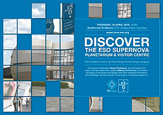 Poster: Discover The ESO Supernova Planetarium & Visitor Centre
