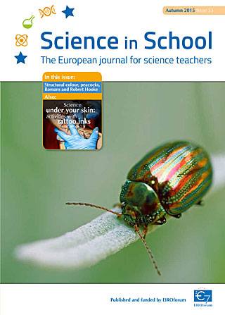 Science in School: Issue 33 - Autumn 2015