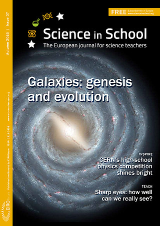 Science in School: Issue 37 - Autumn 2016