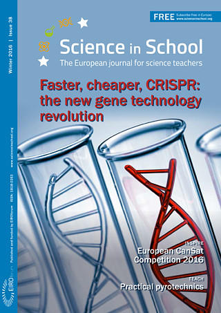 Science in School: Issue 38 - Winter 2016