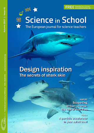 Science in School: Issue 41 - Autumn 2017