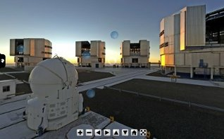 Virtual Tour at ESO Very Large Telescope
