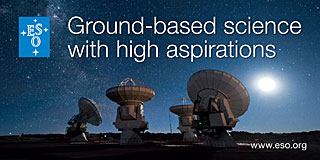 Sticker: Ground-based science with high aspirations