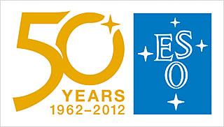 Sticker: ESO 50th Anniversary Logo