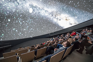 Private Planetarium Show (book entire show at existing, fixed time slot)