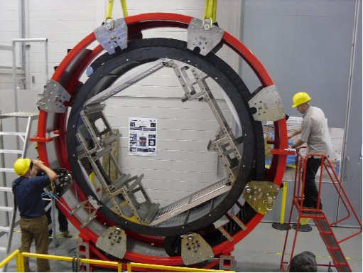 The KMOS cable rotator under test.